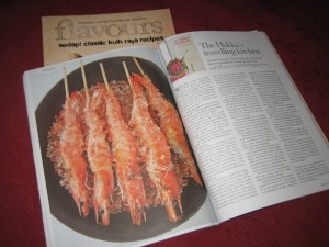The Hakka Cookbook appears in Flavours July 2013 issue.