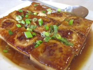 stuffed tofu, Hakka Restaurant