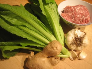 Ingredients Mustard green soup