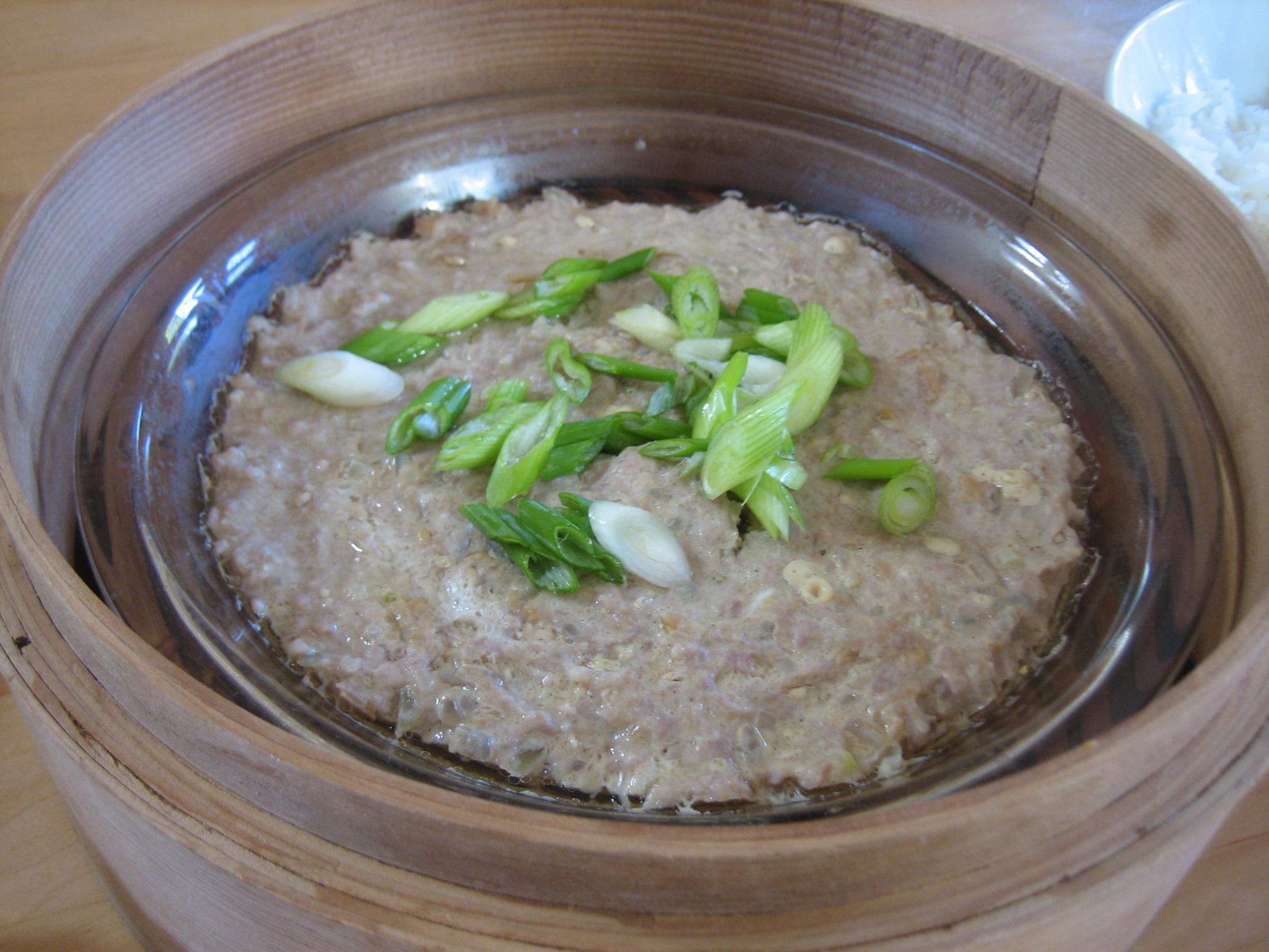 Chinese pork hash archives the hakka cookbookthe hakka cookbook steamed pork and egg forumfinder Images