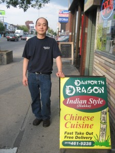 Anthony Lin, chef/owner at Danforth Dragon in Toronto